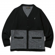 (CLUCT:) DIVISION STRIPE CARDIGAN