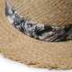 ROUGH EDGE STRAW HAT(CLUCT:)