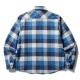 FLANNEL DOUBLE CLOSURE SHIRT(CLUCT:)