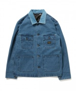 (fourthirty:) DENIM INSULATE COVERALL
